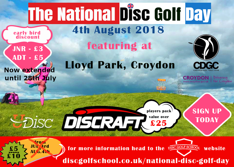 National disc golf day